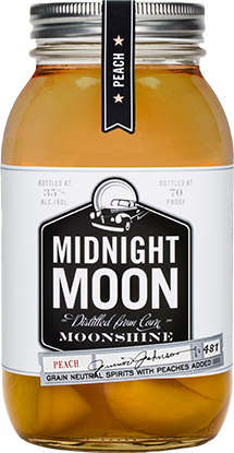 Midnight Moon - Peach