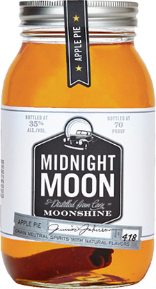 Midnight Moon - Apple Pie Bottle Shot