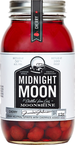 Midnight Moon - Cherry Bottle Shot